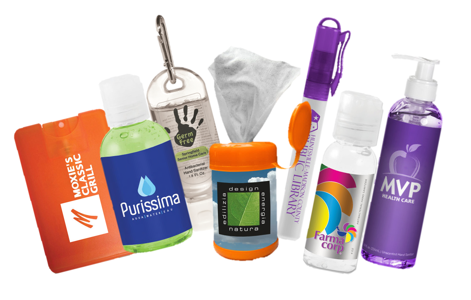 Deliver your Message with Custom Hand Sanitizer