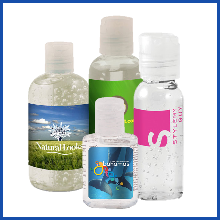 Represent Your Brand Name with Custom Hand Sanitizer Bottles
