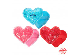 Premium Plush Heart Hot/Cold Pack