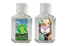 1 Oz. Square Hand Sanitizer Gel