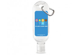 1 Oz. Clip-On Tottle Bottle Hand Sanitizer