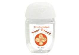 1 Oz. Hand Sanitizer Gel Pocket Bottle