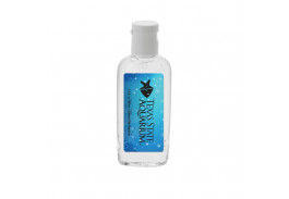 1 Oz. Clear Sanitizer in Oval Bottle - Made in USA !