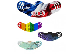 Full Color Adjustable Face Mask - USA Made