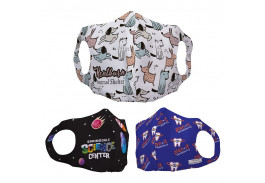 Youth Sentinel Polyester Dye-Sublimation Face Mask